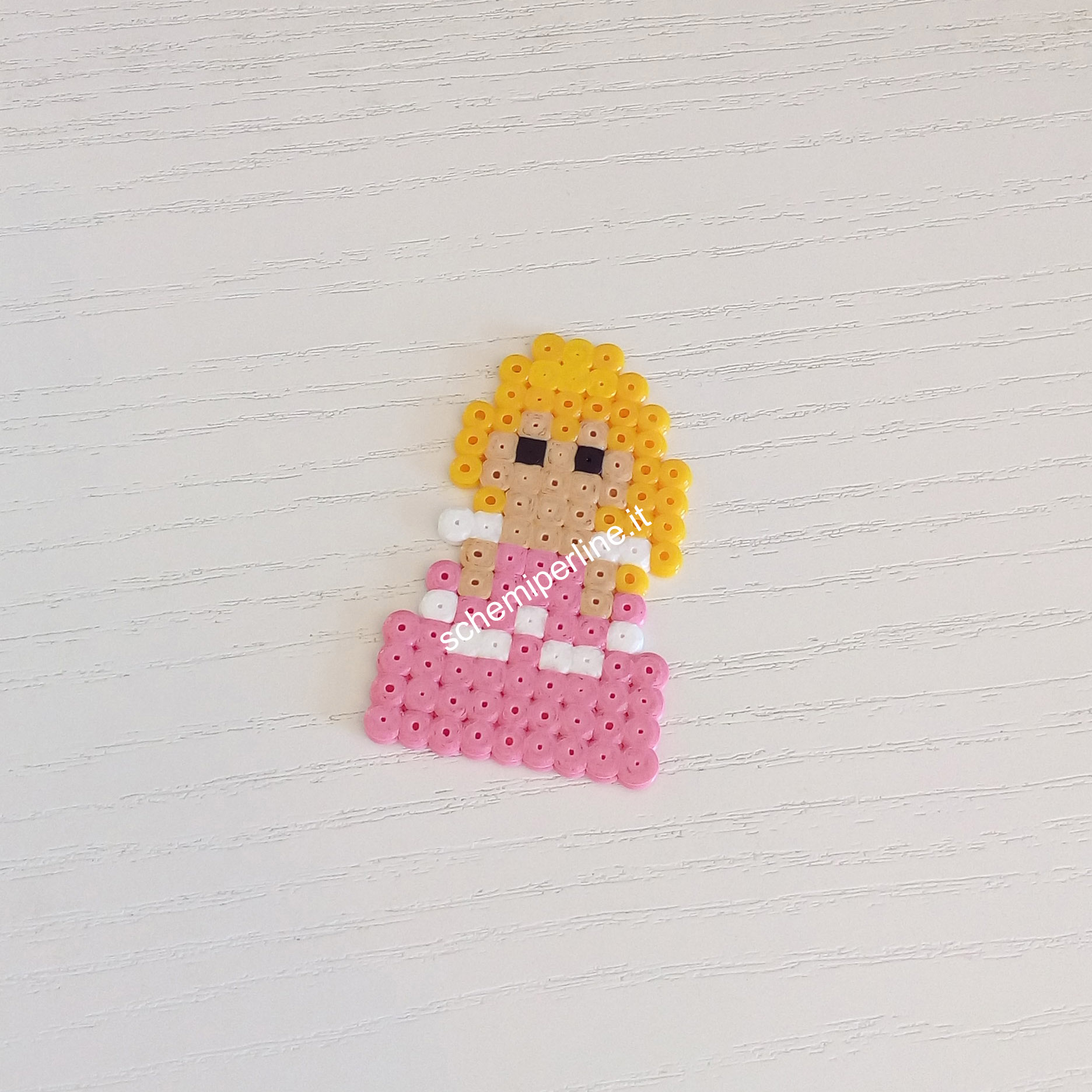 Aurora Mini Principessa Disney foto lavoro Pyssla