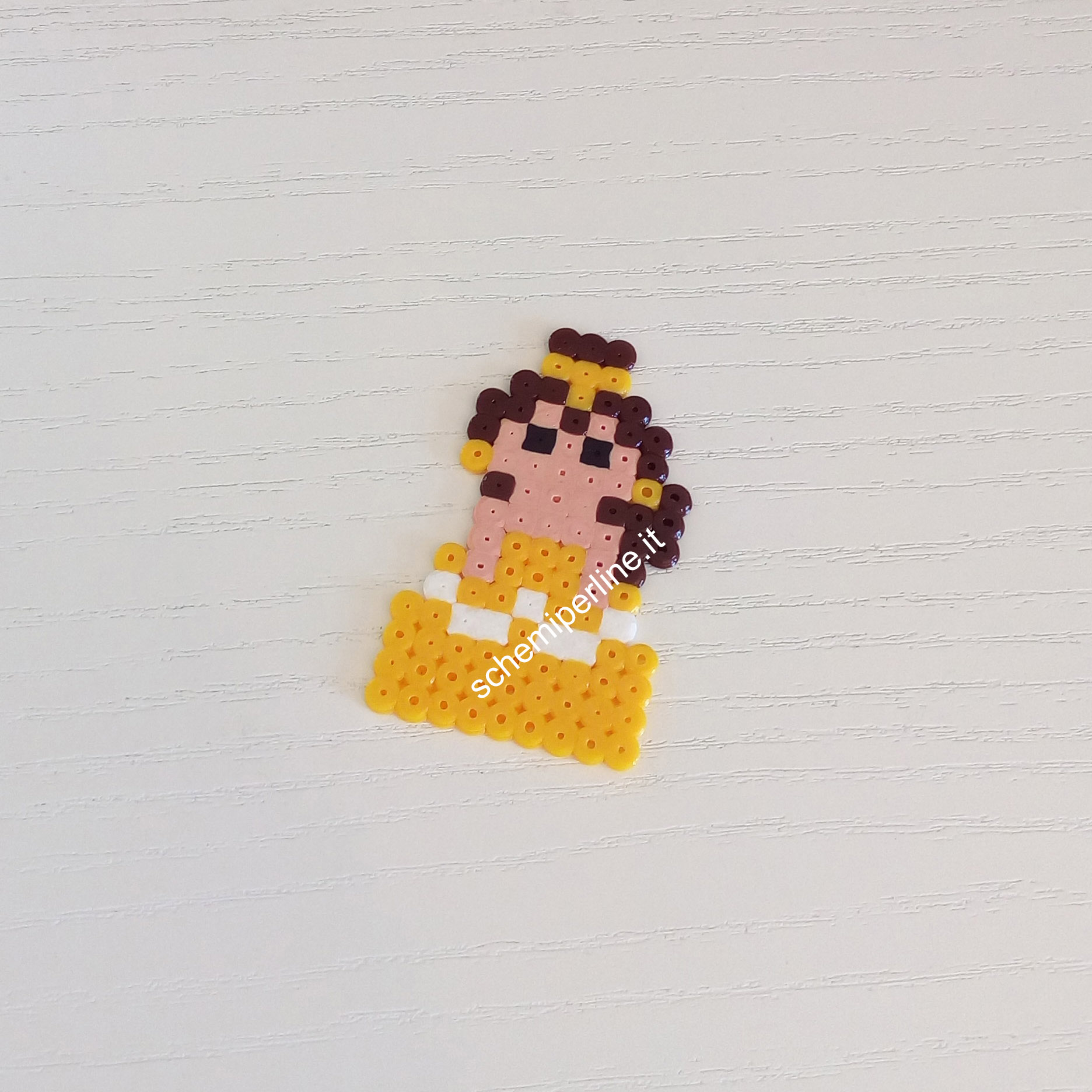 Bella Belle Mini Principessa Disney foto lavoro perline da stirare