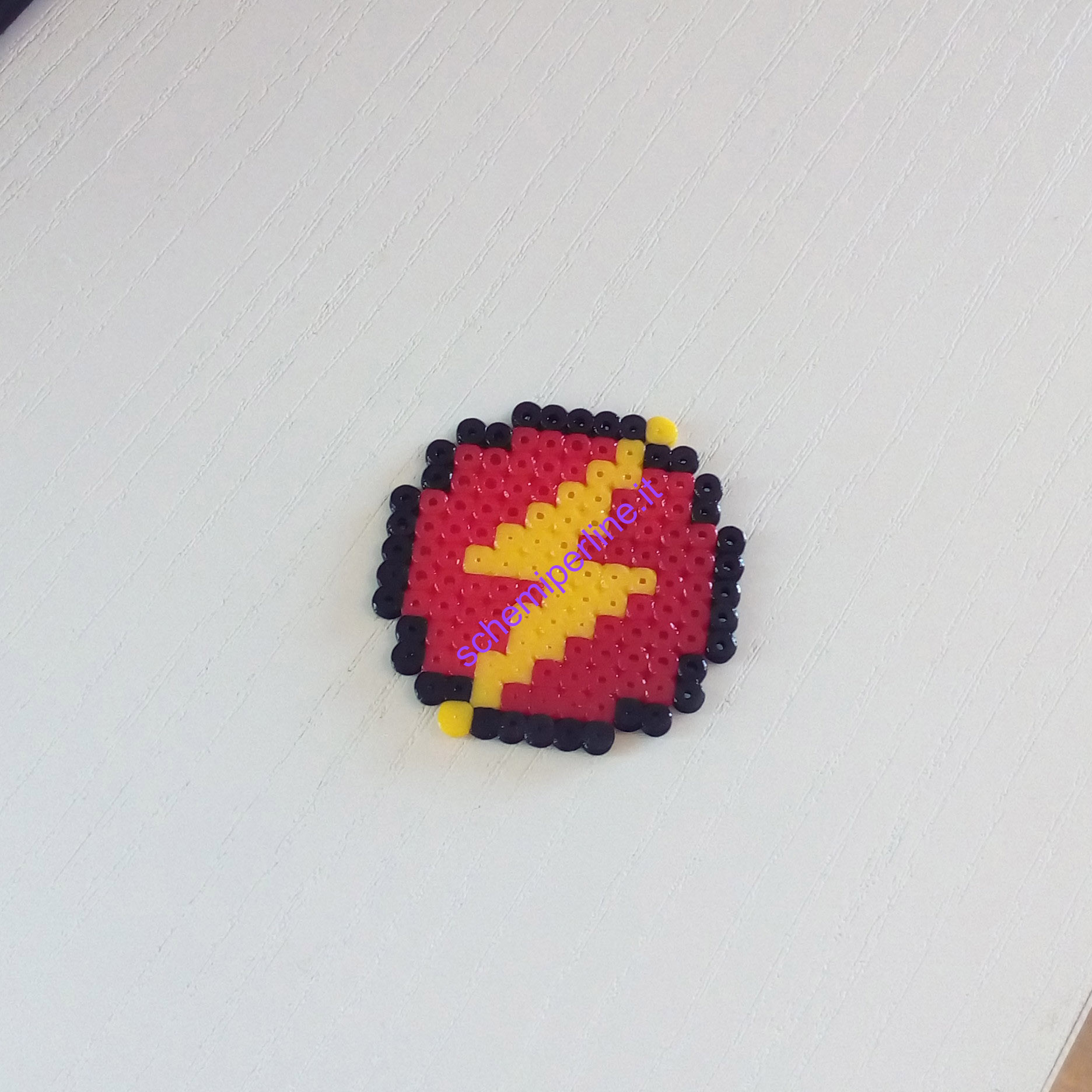 Pyssla Natale.Supereroi Con Le Pyssla Hama Beads Flash Schemiperline It